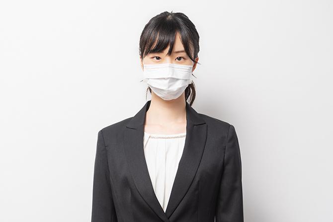務中のマスク着用